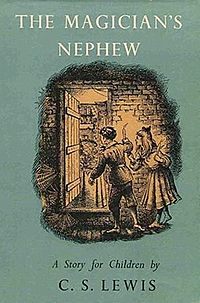 The Magician's Nephew cover from Wikipedia